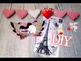 Diy 🎀 Заколки Валентинки 🎀decor for Valentine's day 🎀jojo