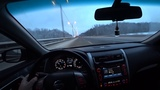 Nissan Teana 2014 2.5 на трассе. Разгон шок. Топ контент. М4 Дон. Новый год.