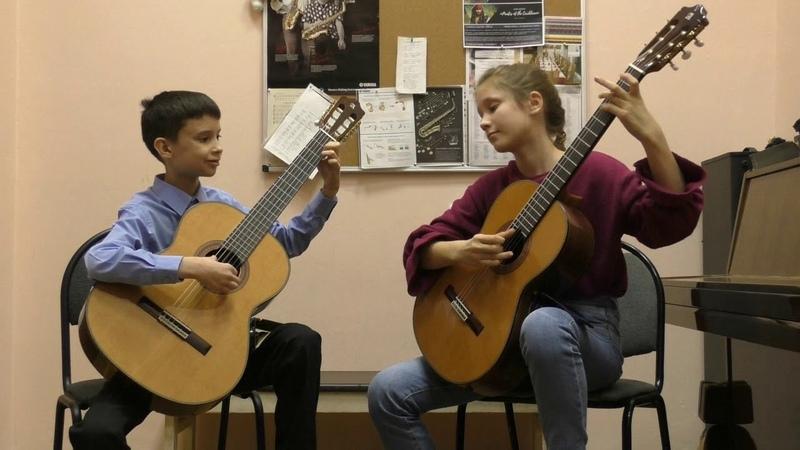 В контакте с гитарой ансамбль Камерата Фигурато