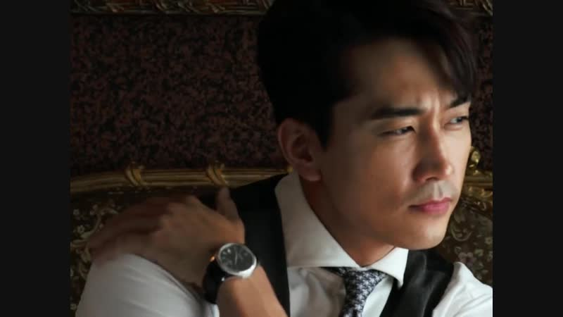 Song Seung Heon - Arena Homme For Swiss watch Tissot 2018 ( November )