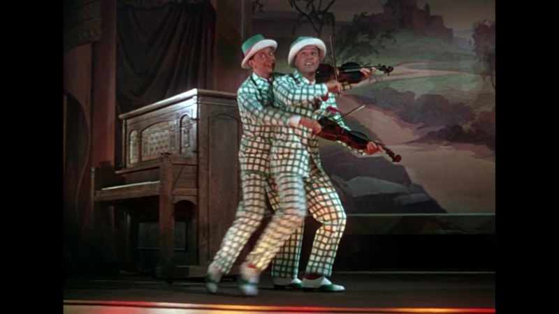 Gene Kelly Donald O'Connor Fit As A Fiddle OST Singin' In The Rain