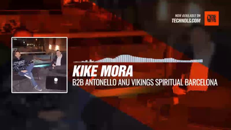 Kike Mora B2B Antonello Anu - Vikings Spiritual Barcelona, España (September 2018) Periscope Techno music