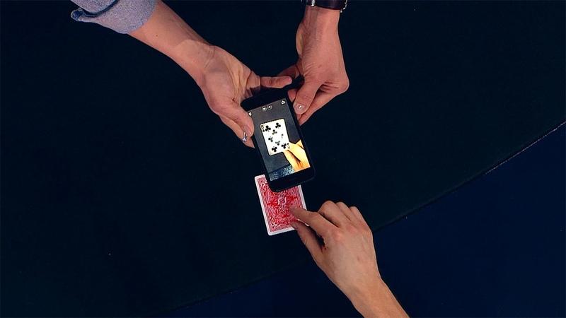 Фокус смартфон cчитывает отпечатки пальцев Всё кроме обычного фрагмент 2 выпуска 11 08 2018