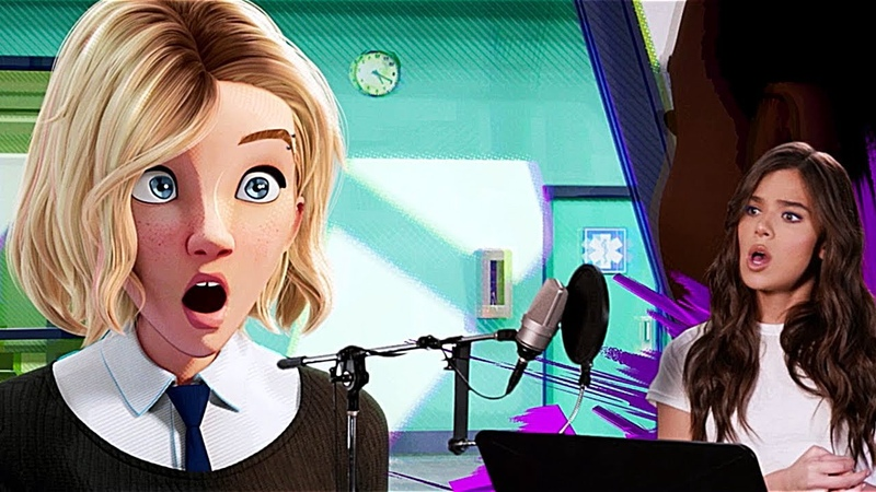 SPIDER-MAN: INTO THE SPIDER-VERSE Voice Cast B-roll - Behind The Scenes (2018) Animated Movie HD