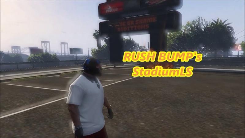 GTA5 Fun Rush Stunt's Stadium LS | The last pirate video/Buy a license by MBK