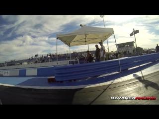 Suzuki Hayabusa vs Buell 1125R DRAG RACE!