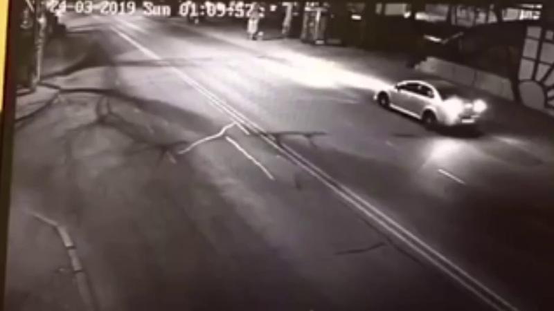 Смертельное ДТП на проспекте Шевченко видео момента аварии