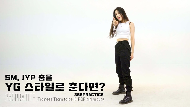 SM, JYP 춤을 YG 스타일로 춘다면? @365 Practice
