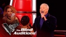 Sir Tom Jones Bethzienna Williams' 'Cry To Me' | Blind Auditions | The Voice UK 2019