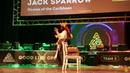 Капитан Джек Воробей Пираты карибского моря Косплей дефиле Good Line Open 11 11 2018
