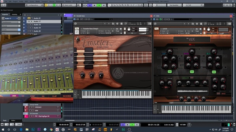 The Vox, Traveler Samples Library DEMO - KONTAKT Trey Zongs COVER
