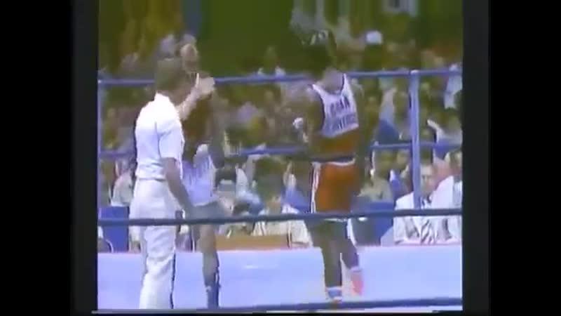 Бокс Канделарио Дювергель Вячеслав Яновский 1984 год