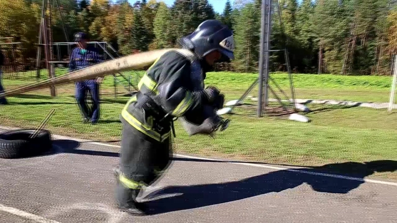 Ялчин Алиев на конкурсе Не всякий пожарный