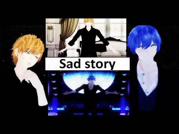 【MMD】 ▌Sad Story ▌ 【 City Boy Kaito X Touyu pack】
