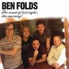 Ben Folds альбом The Sound Of Last Night...This Morning