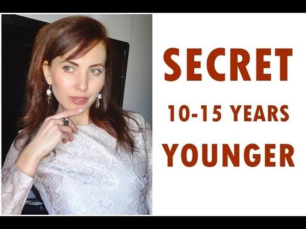 Как быстро омолодить лицо на 5 10 лет без шприца и скальпеля I YuliaSpain