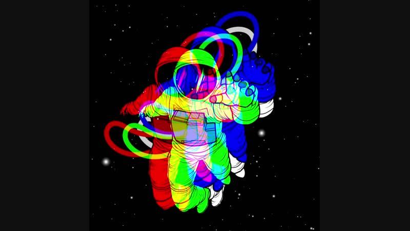 Сон космонавта в зимнюю ночь