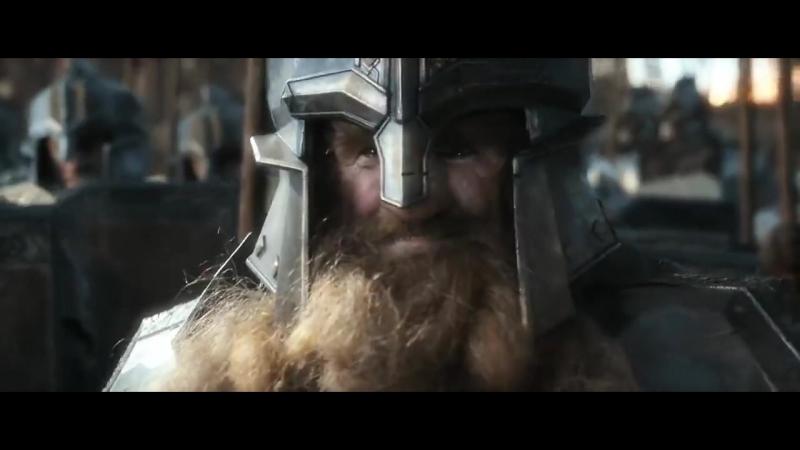 Битва между эльфами и гномами возле Одинокой Горы Вырезанная сцена Хоббит Битва пяти Воинств 1