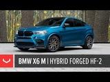 BMW X6 M Vossen Hybrid Forged HF-2 Wheel Tinted Matte Gunmetal