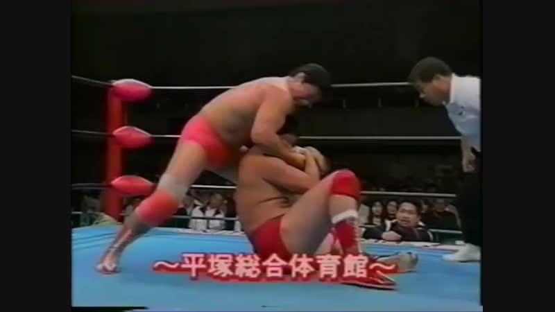 1994.03.24 - Kenta Kobashi vs. Akira Taue [JIP]