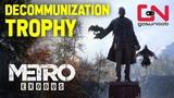 Metro Exodus - Decommunization Trophy - Destroy the Statue at Children's Camp - Taiga