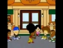 LOCKING LESSONS from a Japanese cartoon! If you look carefully you can see cartoon Tony Gogo in the mix.