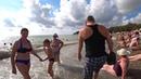 Дивноморское Прогулка к морю Море после шторма Чистота на пляжах 10 сентября 2018 года