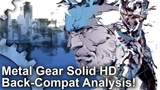 Metal Gear Solid HD Back-Compat on Xbox One The Best Way To Play