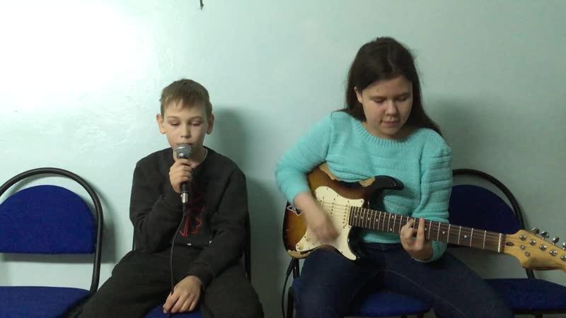 Вадим Володин и Настя Якунина Батарейка