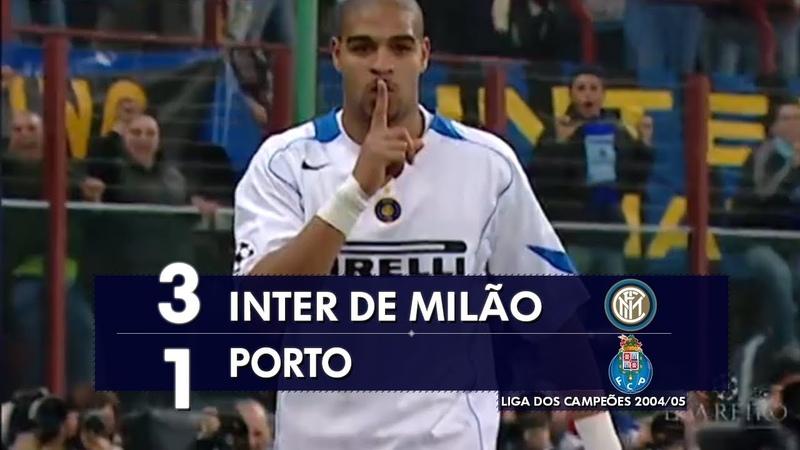 Inter de Milão 3 x 1 Porto - Melhores Momentos (HD 720p) Liga dos Campeões 2005
