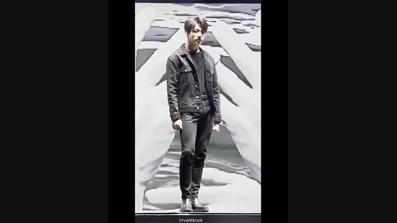 Law of expansion contraction - Demonstration by Jungkook Jungoo - 정국 @BTS_twt bts