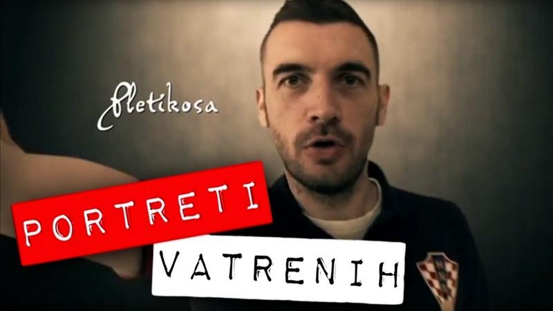 Stipe Pletikosa - portreti Vatrenih, Robert Knjaz
