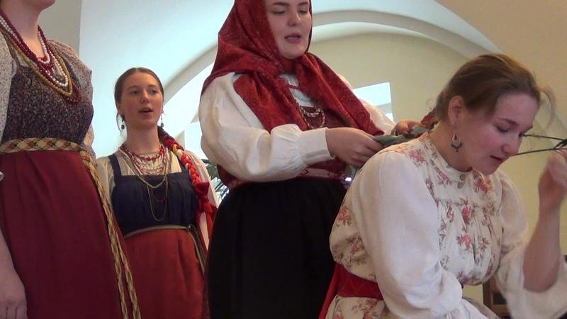 Спала млада, высыпалася. Калинино. Пермский. Болотова Ирина. Tradition. Folklore. 전통. את השיר