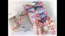 Бантик из РЕПСОВОЙ ЛЕНТЫ 2,5 см Кукла LOL. МК. DIY Corded Silk Ribbon Bow, 2.5 cm, LOL Doll