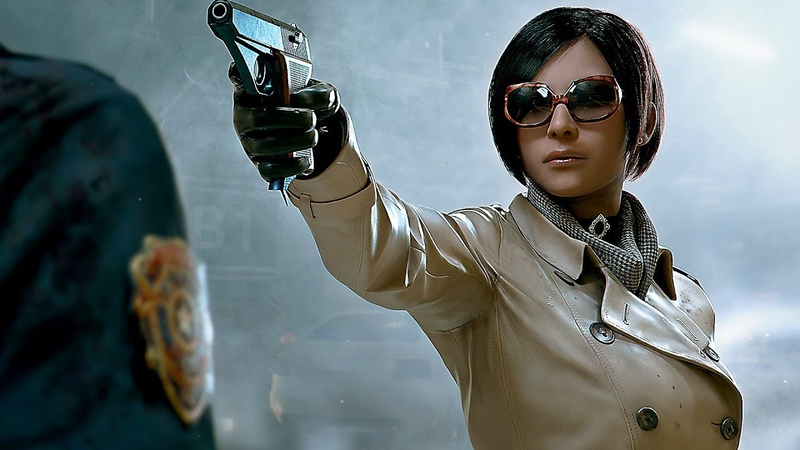 RESIDENT EVIL 2 Remake Ada Wong Story Trailer NEW (TGS 2018)
