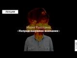 Sciense Slam: Мария Кувалдина о психологии внимания