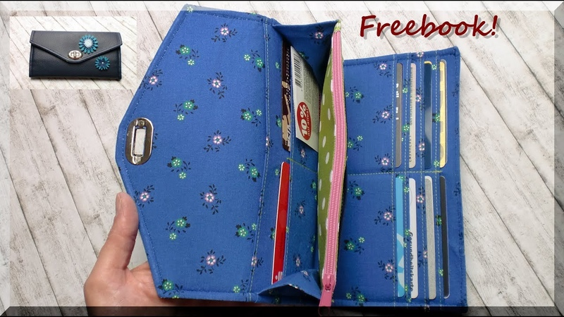 Portemonnaie LISANNE nähen kostenloses e-Book von AKkreativ