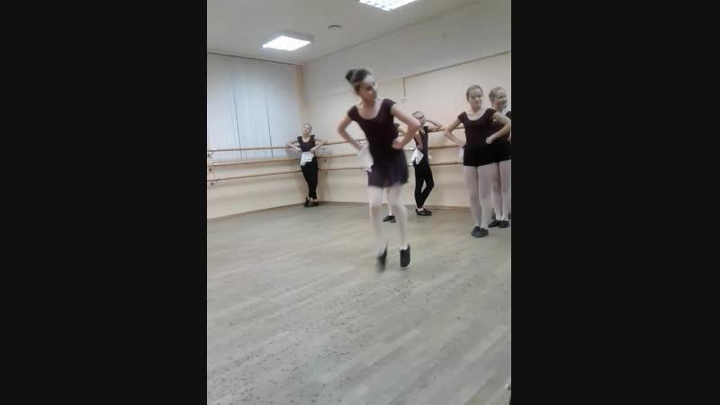 Открытый урок народный танец Болгария 2018 г. 8кл.