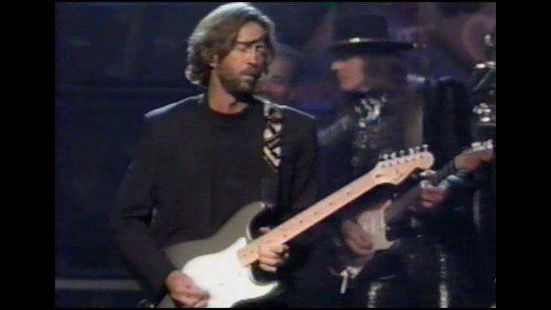 Eric Clapton Buddy Guy Richie Sambora All Star Band Sweet Home Chicago NYC 1990