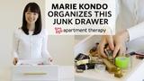 Marie Kondo Organizes A Junk Drawer Apartment Therapy