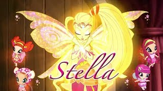 Winx Club Season 6 - Stella Bloomix Spells - English