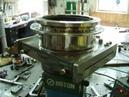 MOCVD test chamber 實驗小腔體,2500度C,真空,雙層水冷