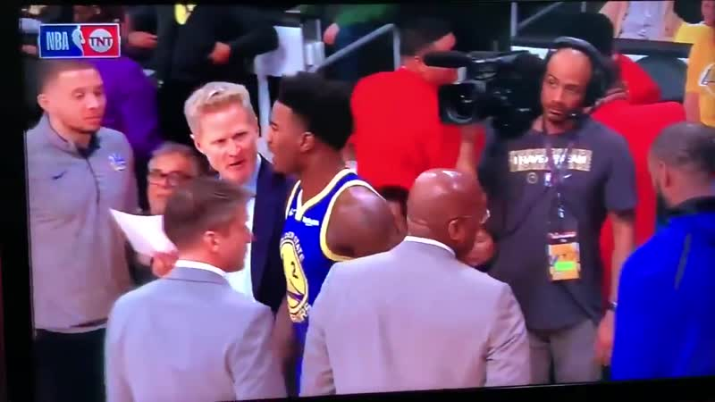 What's a game at Staples without some drama