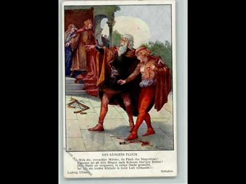 SCHUMANN Des Sangers Fluch, op.139 Ballade In der Hohen Hall,Richard Rittelmann Baritone