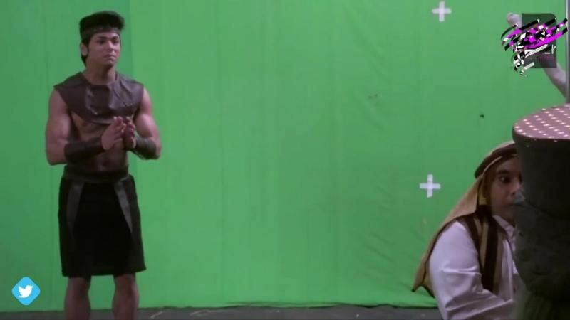 Aladdin - Naam Toh Suna Hoga _ Aladdin Turns Statue,Ginnie Irritates Him _