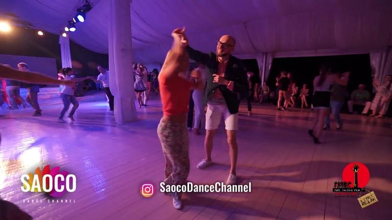 Marco Ivanyk and Sonya Okladnikova Salsa Dancing in Malibu at The Third Front, Sun 05.08.2018 (SC)