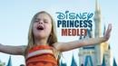 DISNEY PRINCESS MEDLEY SINGING EVERY PRINCESS SONG AT WALT DISNEY WORLD