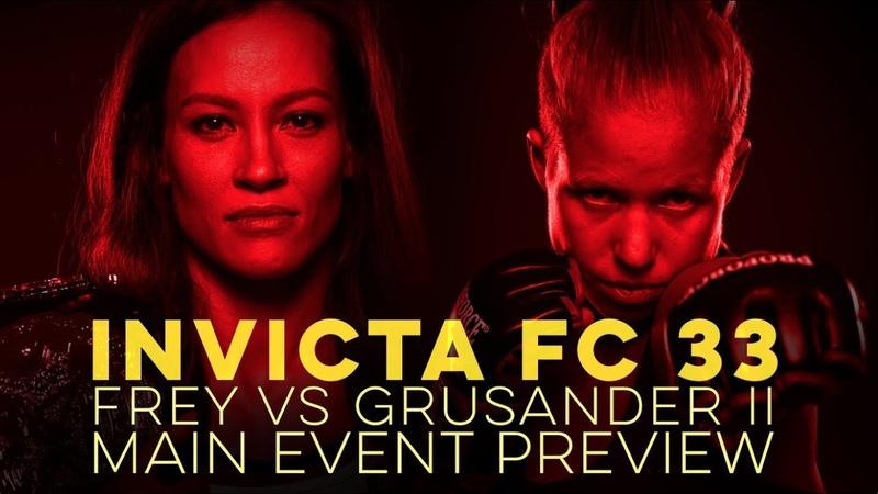 Invicta FC 33 Main Event Preview