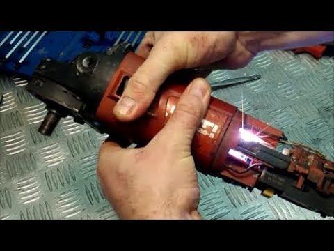 Как определить поломку якоря HILTI DCG 125S ИСКРИТ НА ЩЕТКАХ HILTI DCG 125C sparks on brushes