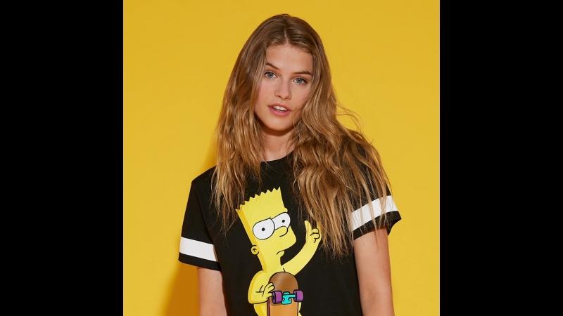 Капсульная коллекция Tezenis Simpsons